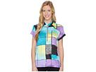 Jamie Sadock Crunchy Glo Print Short Sleeve Top
