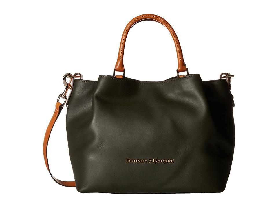 Dooney & Bourke - City Barlow (Forest/Natural Trim) Handbags