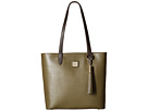 Dooney & Bourke Saffiano Two-Tone Hadley Tote
