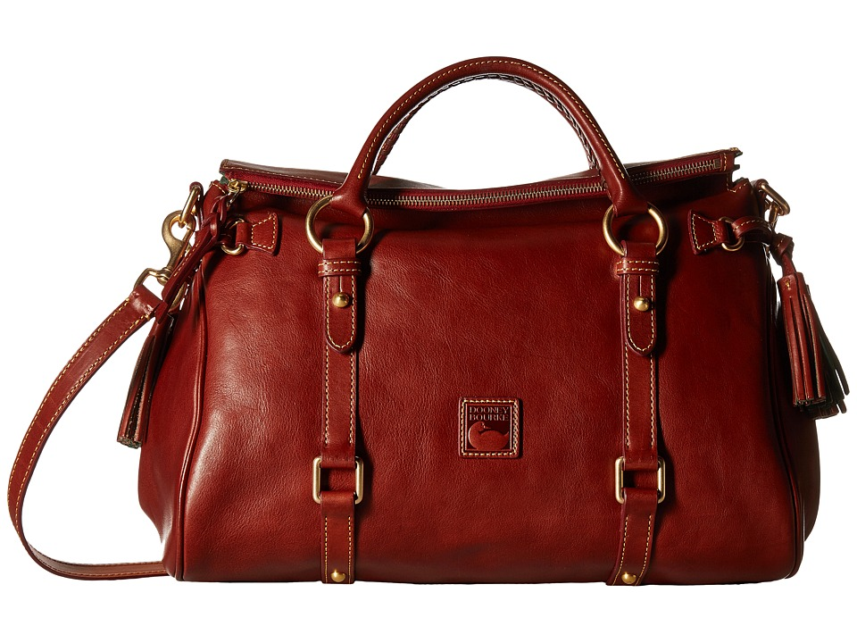 Dooney & Bourke - Florentine Vacchetta Satchel (Ginger/Self Trim) Satchel Handbags
