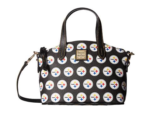 Dooney & Bourke NFL Signature Ruby Bag - Black/Black/Steelers