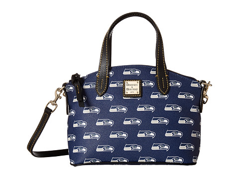 Dooney & Bourke NFL Signature Ruby Bag - Navy/Black Seahawks