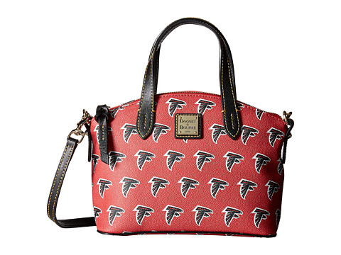 Dooney & Bourke NFL Signature Ruby Bag - Red/Black/Falcons