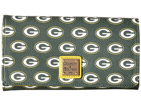 Dooney & Bourke NFL Signature Daphne Crossbody Wallet - Green/Yellow/Packers