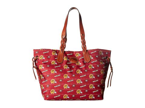 Dooney & Bourke NFL Nylon Shopper - Red/Tan/49Ers