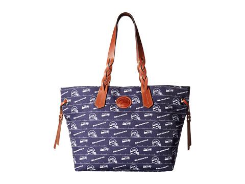Dooney & Bourke NFL Nylon Shopper - Navy/Tan/Seahawks
