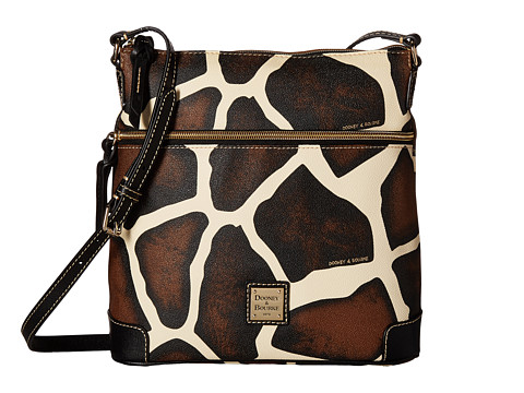 Dooney & Bourke Serengeti Crossbody - Giraffe/Black Trim