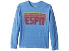 The Original Retro Brand Kids ESPN Long Sleeve Tri-Blend Tee (Big Kids)