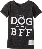 The Original Retro Brand Kids - My Dog is My BFF Short Sleeve Tri-Blend Tee (Toddler)