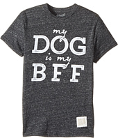 The Original Retro Brand Kids - My Dog is BFF Short Sleeve Tri-Blend Tee (Big Kids)