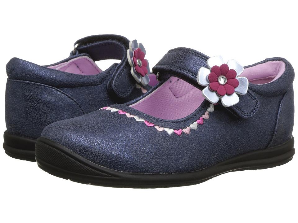 Rachel Kids Lane (Toddler/Little Kid) (Blue/Pink) Girl's Shoes