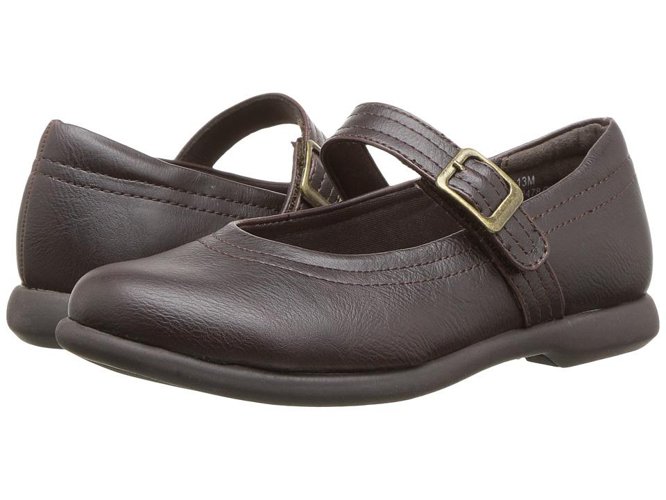 Rachel Kids Claudia (Little Kid/Big Kid) (Brown Smooth) Girl's Shoes