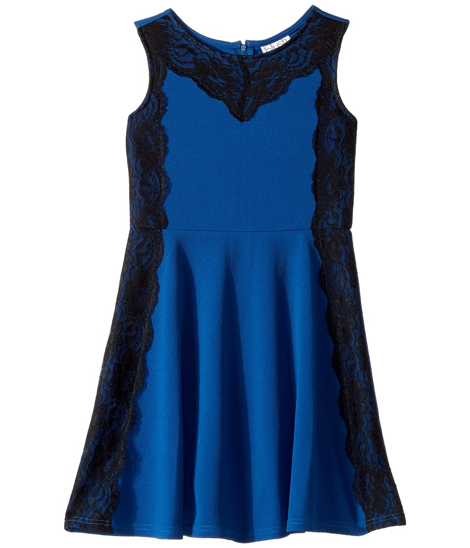 Us Angels - Sleeveless with Lace Fit and Flare Dress