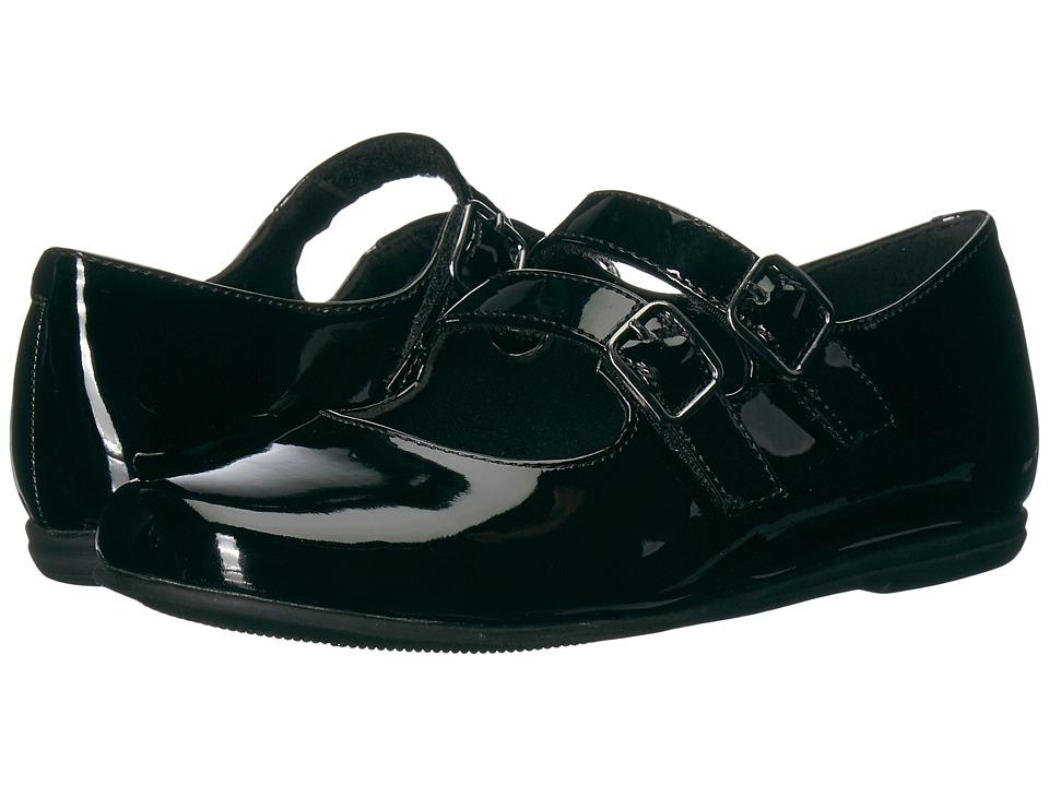 Rachel Kids Shara (Little Kid) (Black Patent) Girl's Shoes