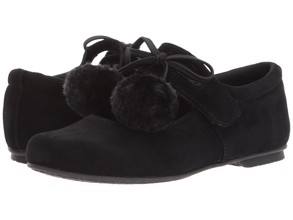 Rachel Kids Jennifer (Little Kid) (Black Velvet) Girl's Shoes