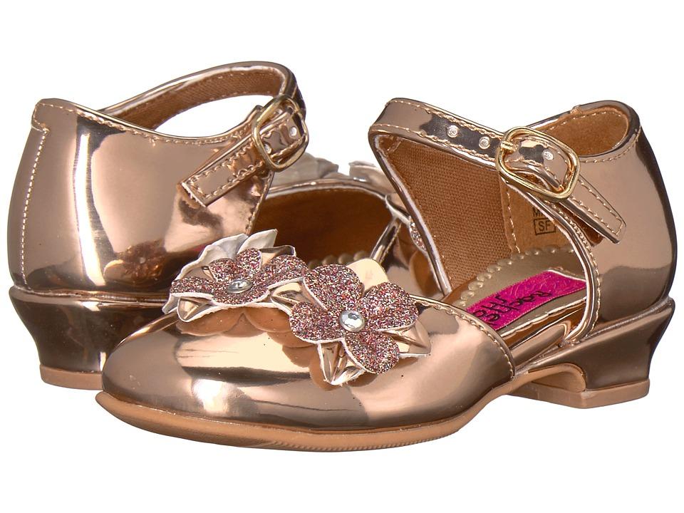 Rachel Kids Lil Lilah (Toddler/Little Kid) (Rose Gold Metallic) Girl's Shoes