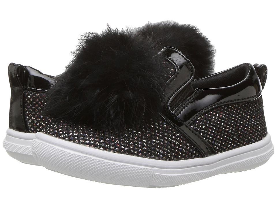 Rachel Kids Lil Jolene (Toddler/Little Kid) (Black) Girl's Shoes