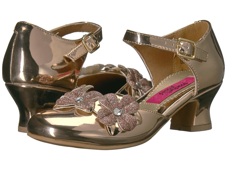 Rachel Kids Lilah (Little Kid/Big Kid) (Rose Gold Metallic) Girl's Shoes
