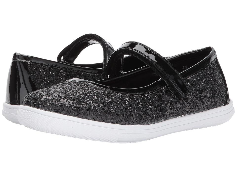 Rachel Kids - Aries (Little Kid/Big Kid) (Black Glitter) Girls Shoes