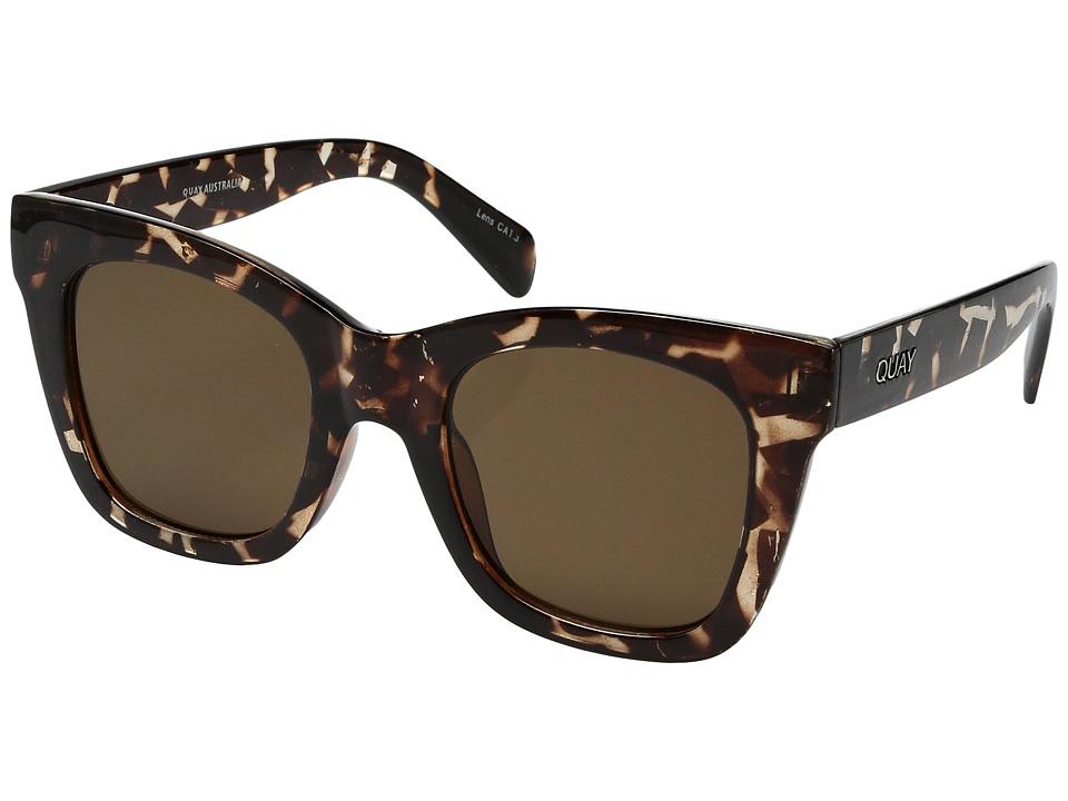 QUAY AUSTRALIA After Hours (Tortoise/Brown) Fashion Sunglasses