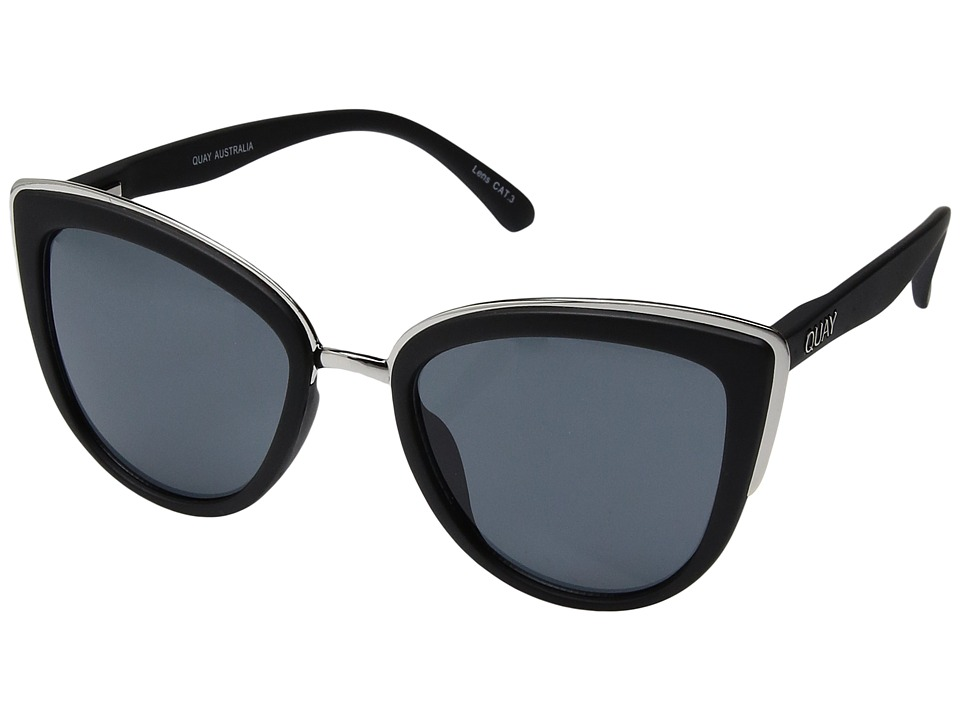 QUAY AUSTRALIA My Girl (Black/Smoke) Fashion Sunglasses