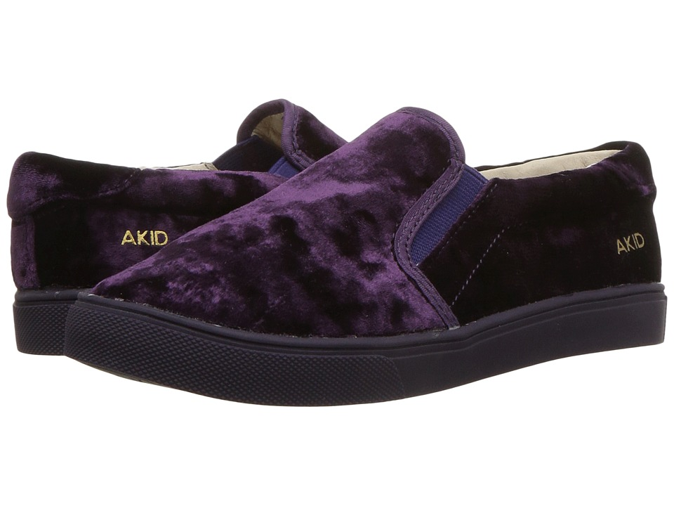 AKID Brand Liv (Toddler/Little Kid/Big Kid) (Purple) Girl's Shoes