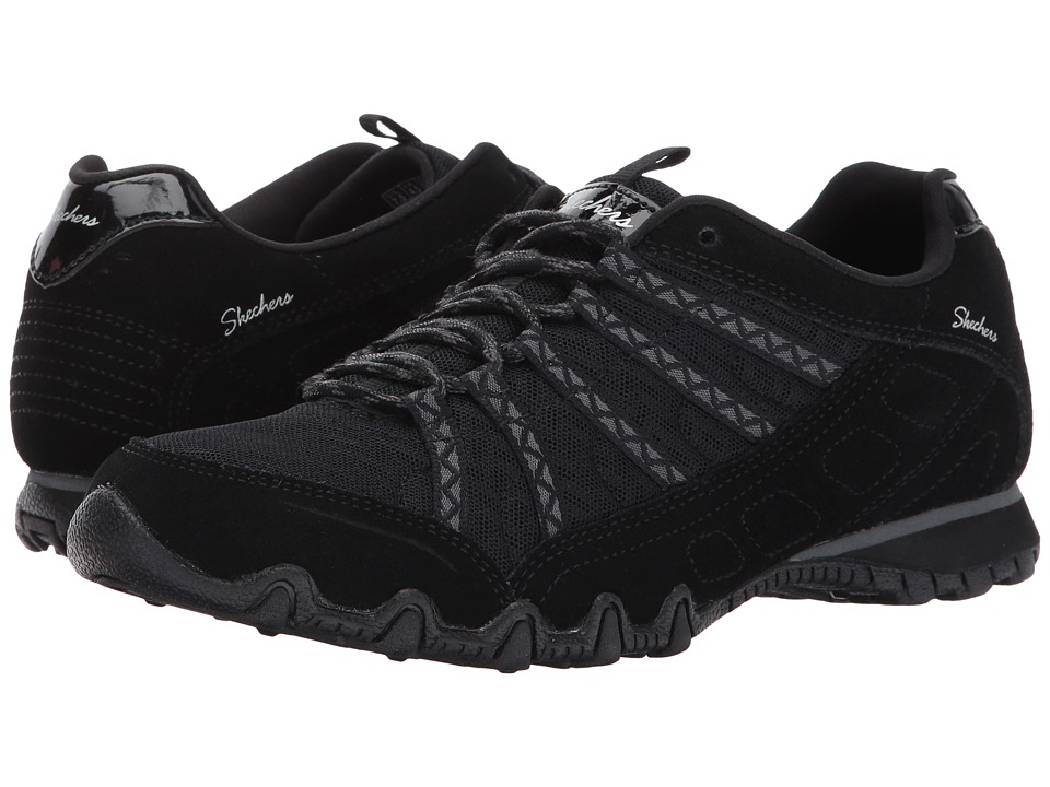 SKECHERS Bikers Commotion (Black) Women