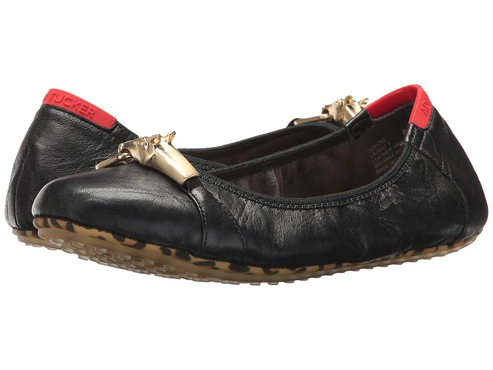 Me Too Latigo (Black Crinkle Leather) Women