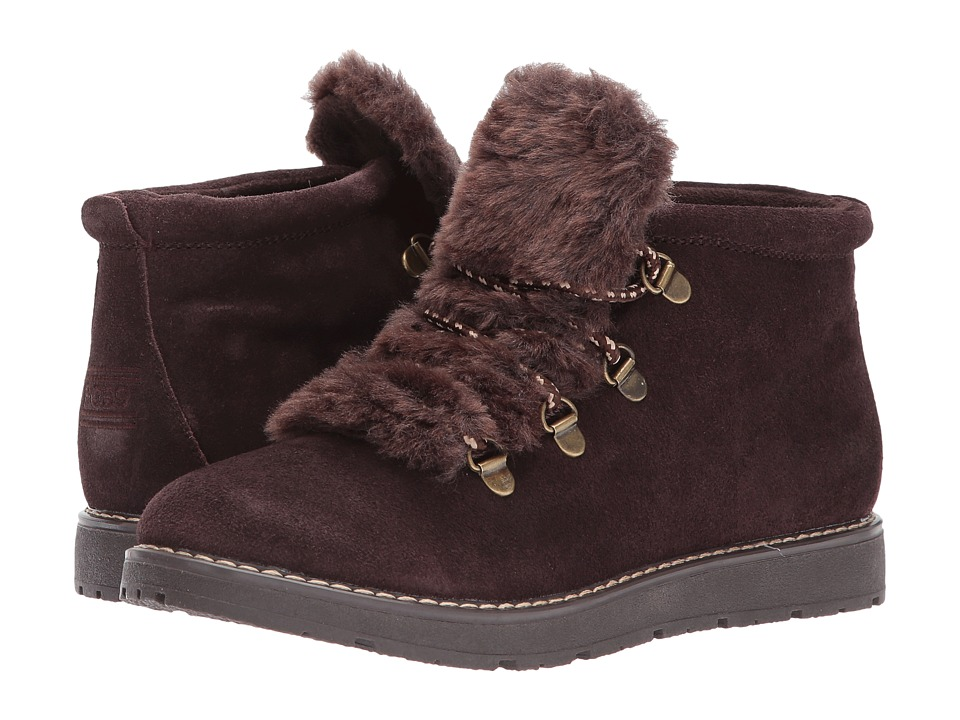 BOBS from SKECHERS Bobs Alpine Fur Eva (Chocolate) Women