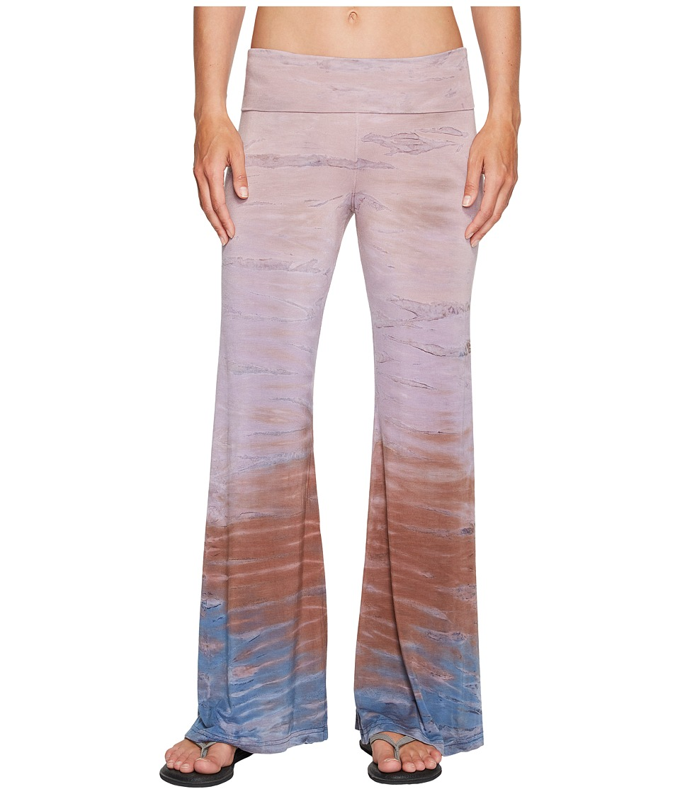 Hard Tail Flare Leg Pants (Rainbow Horizon 46) Women