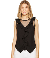 XOXO - V-Neck Ruffle Top