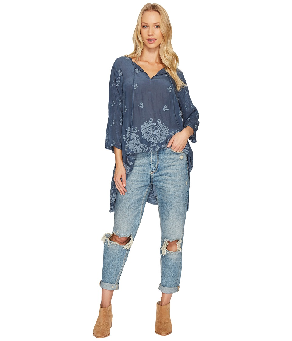 Johnny Was - Paisley Flair Blouse