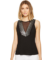 XOXO - Embellished V-Neck Top