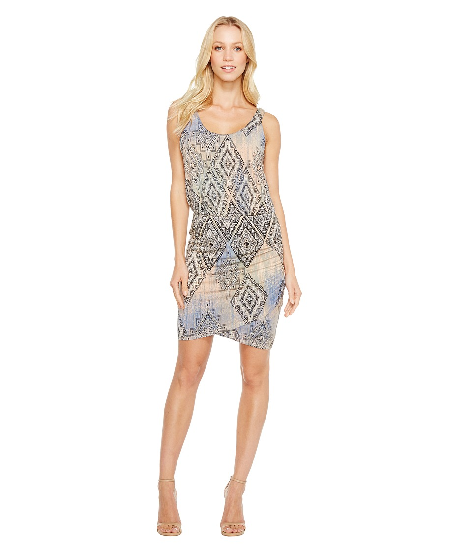 Tart Jan Dress (Aztec Overlay Diamonds) Women