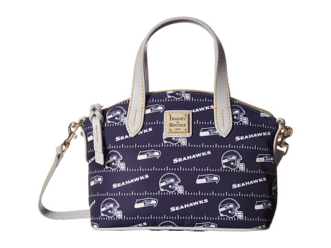 Dooney & Bourke NFL Nylon Ruby Bag - Navy/Grey/Seahawks