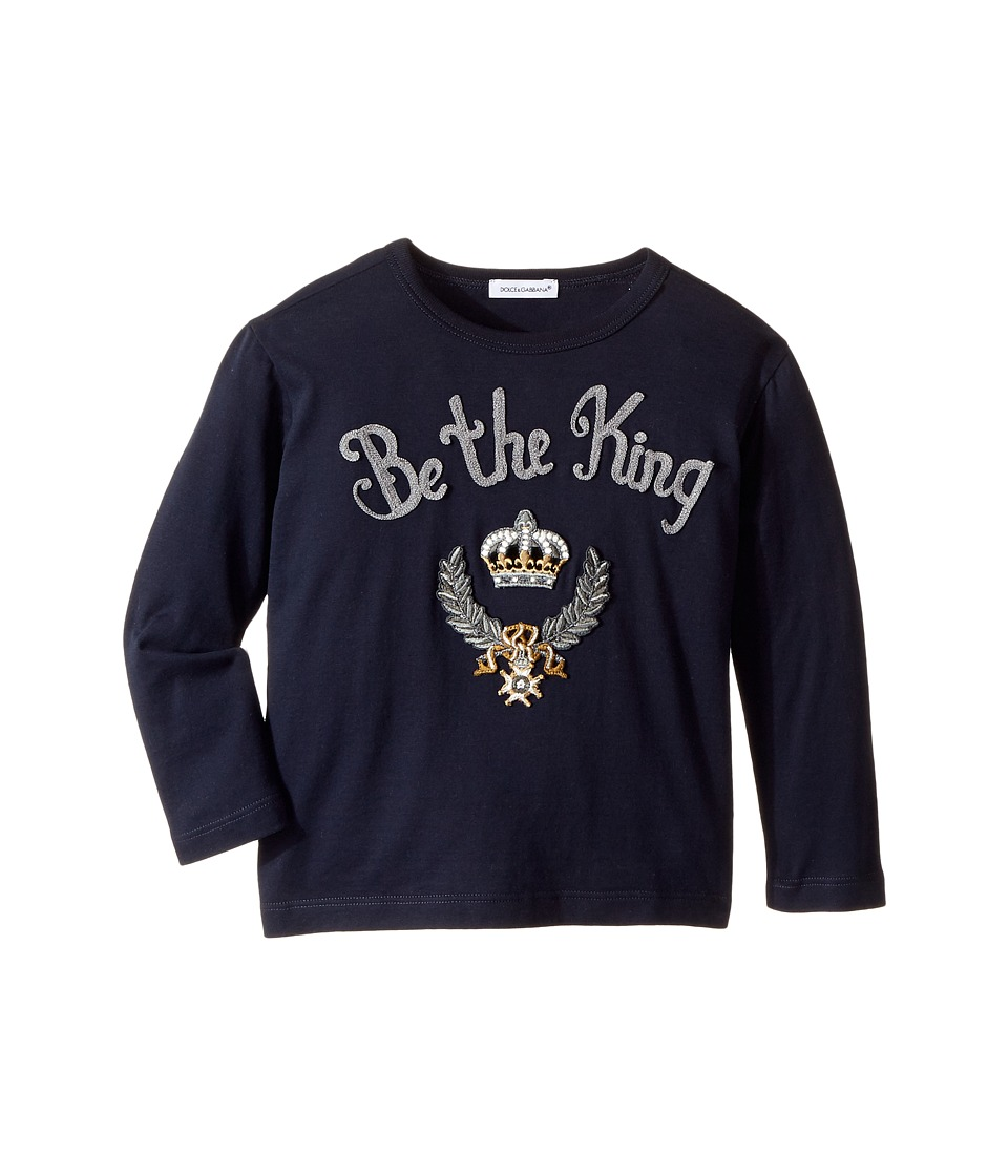 Dolce & Gabbana Kids - Be The King T-Shirt