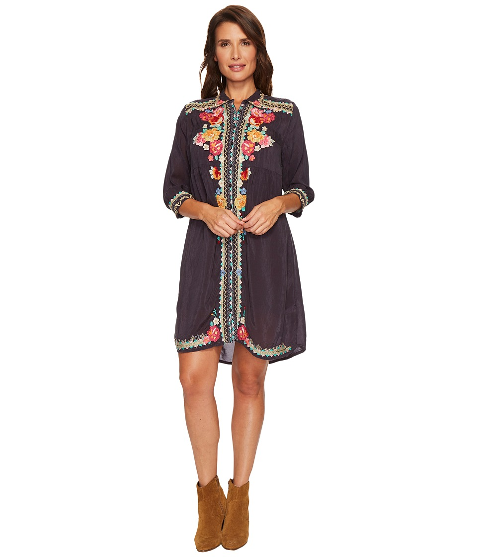 Johnny Was - Brisa Button Down Dress with Slip