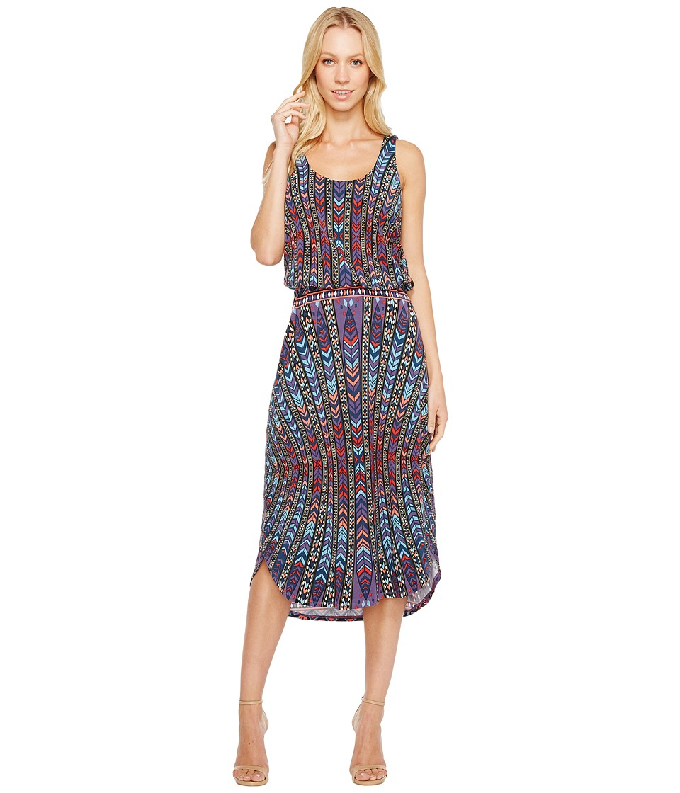 Tart Soraya Midi Dress (Peacock Stripe) Women