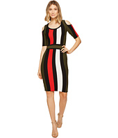 XOXO - Multicolor Stripe Stitch Dress
