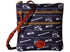 Dooney & Bourke NFL Nylon North/South Triple Zip