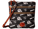 Dooney & Bourke Dooney & Bourke NFL Nylon North/South Triple Zip