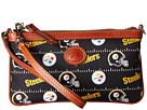 Dooney & Bourke NFL Nylon Large Slim Wristlet