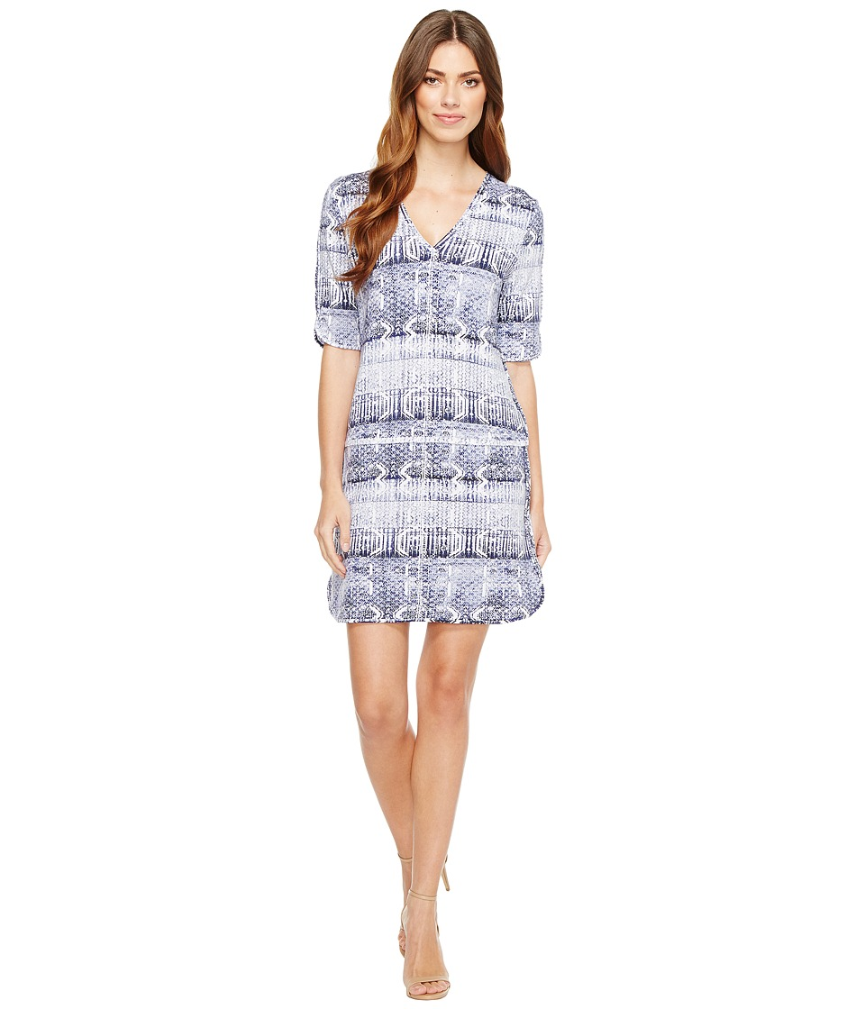Tart Darby Dress (Worn Block Print) Women
