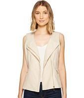 XOXO - Linen Zip Front Vest