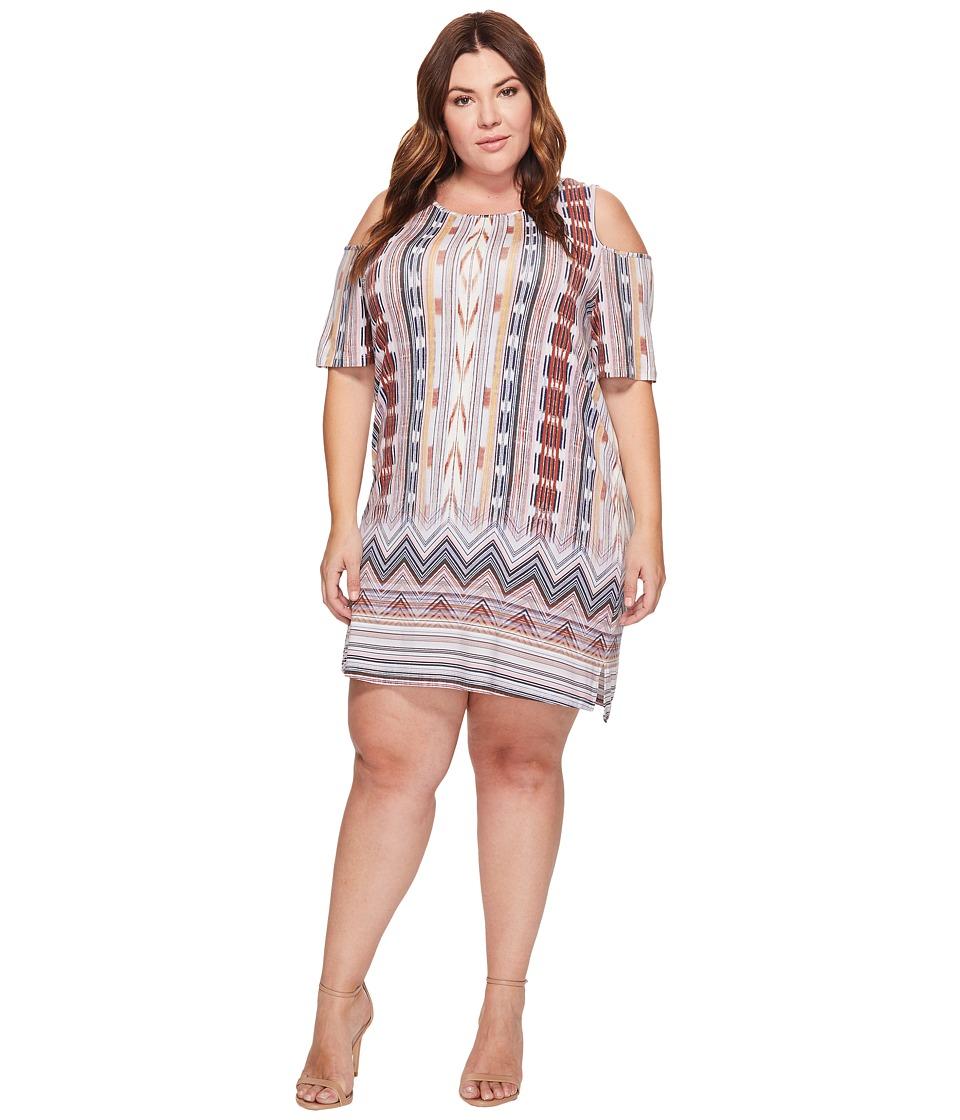 Tart Plus Size Tabitha Dress (Ikat Border) Women
