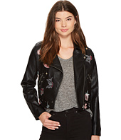 XOXO - Cropped Moto Jacket