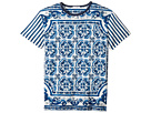 Dolce & Gabbana Kids - Capri Striped Maiolica T-Shirt (Big Kids)