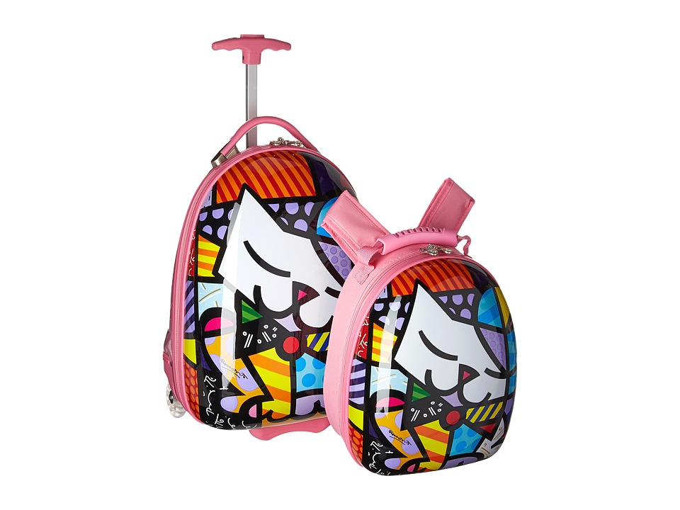 Heys America - Britto Kids Luggage with Backpack (Kitty) ...