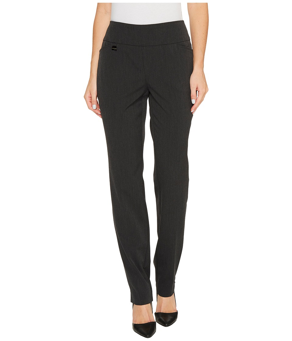 Lisette L Montreal - Gaby Stretch Slim Pants (Charcoal) Womens Casual Pants