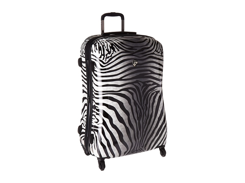 Heys America - Zebra Equus 30 Spinner (Black/White) Luggage